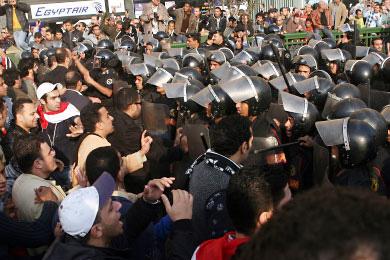 يوم الغضب المصري: 4 قتلى أحدهم من عناصر الأمن
