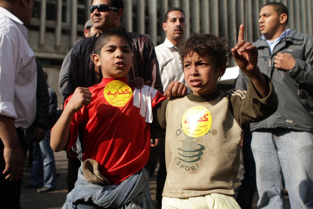 صور من أيام الغضب المصرية