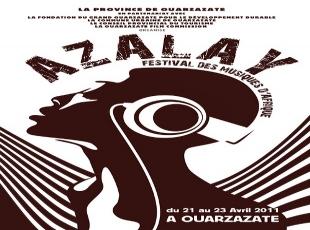 """مهرجان """"أزالاي"""" للموسيقى الافريقية في ورزازات المغربية"""