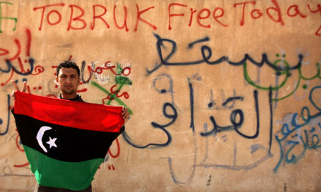 """المعارضة الليبية تتعهد باقامة دولة """"علمانية وديموقراطية"""" مستقبلا"""