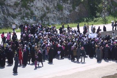 سورية: مظاهرات تضامن مع درعا وبانياس