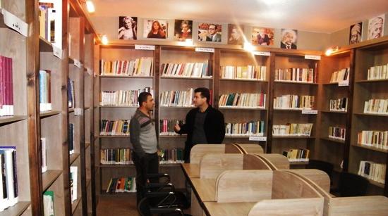 بقعاثا الجولان تحتفي بحنا مينة بافتتاح مكتبة على اسمه
