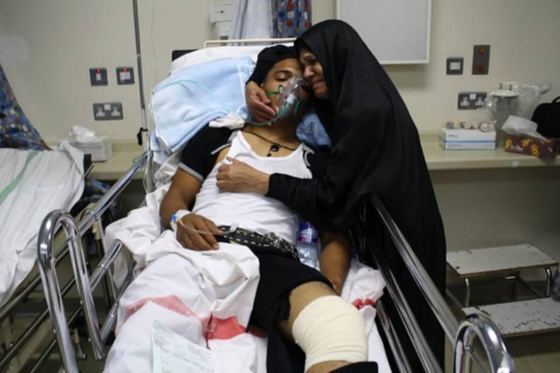 """منظمة حقوقية تتهم السلطات البحرينية بالاعتداء """"المنهجي"""" على فرق الأطباء والمدنيين"""