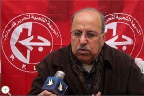 ملوح يرأس وفد الشعبية إلى لقاء القاهرة للشروع في إنهاء الانقسام