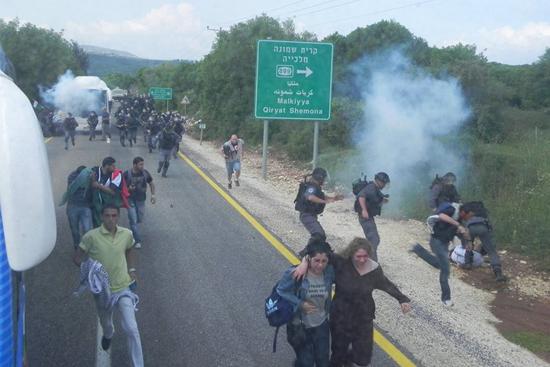 صلح صفد تتداول في تمديد اعتقال متظاهرين في يوم النكبة