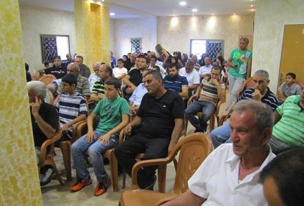 افتتاح مقر التجمع في الطيبة؛ زحالقة وعبد الفتاح: فكر التجمع في صلب الثورات العربية…