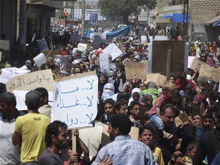 """تشييع شهداء """"جمعة أطفال الحرية"""" في حماة وعدد من المدن السورية"""