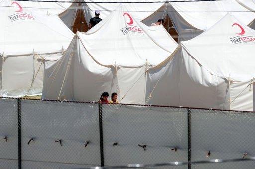10 آلاف لاجئ سوري في تركيا