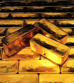 الدول الأوروبية المأزومة اقتصاديا طافحة بالذهب