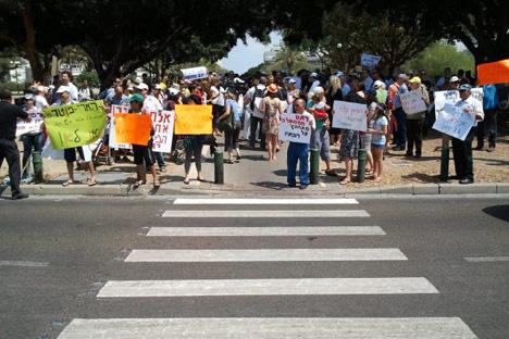 مئات الأطباء الإسرائيليين يتظاهرون في تل أبيب