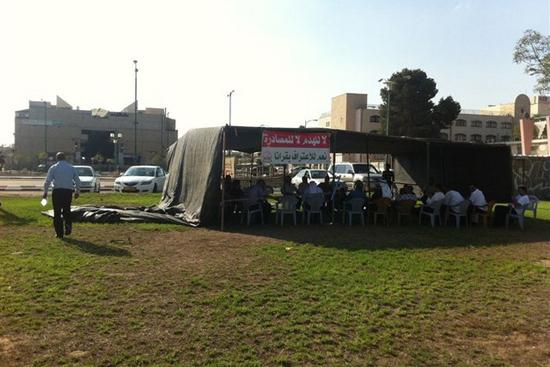 ردا على مخطط نهب أراضي النقب: سلسلة فعاليات احتجاجية تتوج بإضراب شامل
