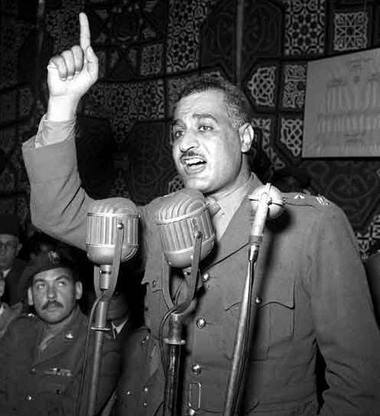 مجموعة من الخطابات للرئيس المصري جمال عبد الناصر