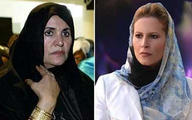 الجزائر تقرر ترحيل زوجة القذافي وابنته إلى دولة خليجية