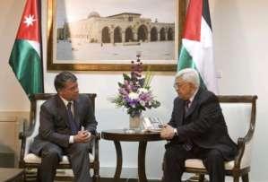 الملك عبد الله الثاني ينهي زيارة الى الاراضي الفلسطينية