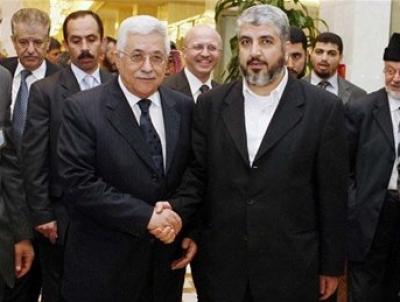 """عباس: """"حماس"""" تتفق معنا في أن تكون المقاومة """"سلمية شعبية وغير عسكرية"""""""