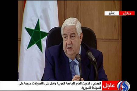 سوريا توقع على بروتوكول المراقبين مع الجامعة العربية  وتسمح بدخول الإعلاميين