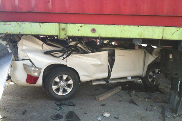 عبلين: إصابة شاب بجروح خطيرة في حادث طرق