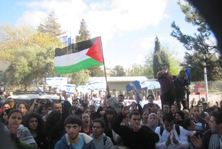 الكتل الطلابية في الجامعة العبرية: سياسة كمّ الأفواه مستمرة... بالفشل!