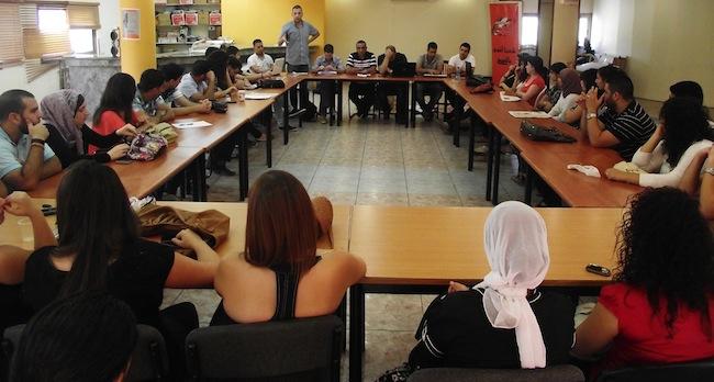 """شباب التجمع يُناقش: """"حملة التصعيد ضد التجمع"""" و """"القضية السورية وإدارة الخلاف"""""""