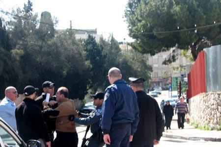 الناصرة: إطلاق سراح المعتقلين  في تظاهرة الناصرة ضد زيارة بيرس