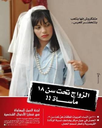 الزواج المبكر: المواقف الأخلاقية لا تحتاج معطيات../ سونيا بولس