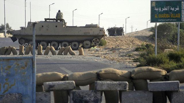 مقتل شخص واصابة ثلاثة مصريين برصاص اسرائيلي على الحدود مع سيناء