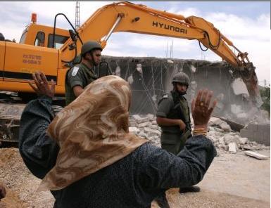 مفوضية حقوق الانسان: اسرائيل هدمت 574 بيتا وشردت 957 فلسطينيا في 2011