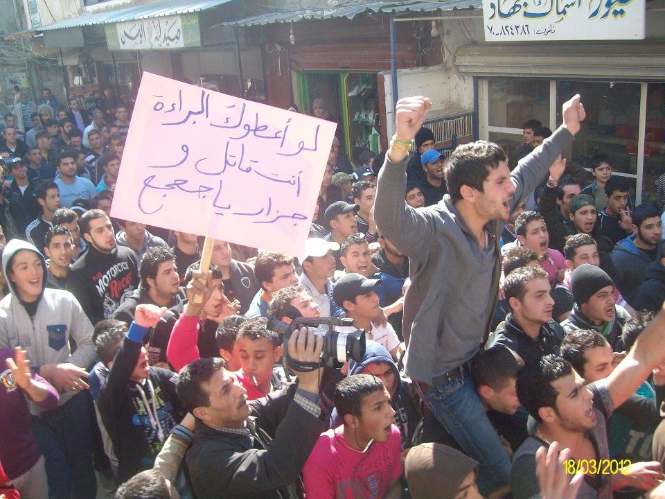 ردا على تصريحات جعجع العنصرية: مسيرة غضب في مخيم عين الحلوة (فيديو)