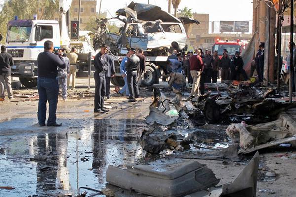 قبيل القمة العربية: 43 قتيلا و232 جريحا في سلسلة انفجارات تضرب المدن العراقية