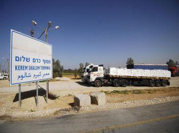 اسرائيل تسمح بادخال مواد بناء للاونروا ومضخات للصرف الصحي الى غزة