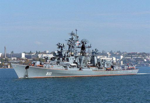 مصدر روسي: سفينة حربية روسية توجهت إلى الساحل السوري