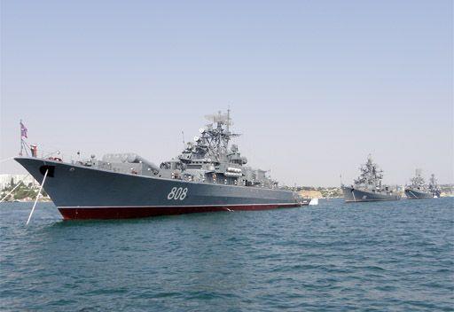 مسؤول روسي: السفن الحربية الروسية سترابط باستمرار في البحر الابيض المتوسط