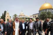 القرضاوي يرفض زيارة مفتي مصر للقدس المحتلة