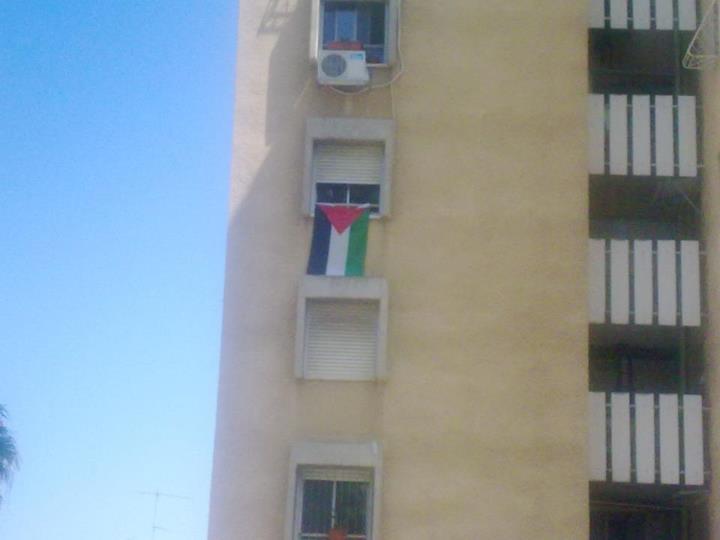 العشرات ينضمون للمبادرة: علم فلسطين على كل شباك في حيفا العربية