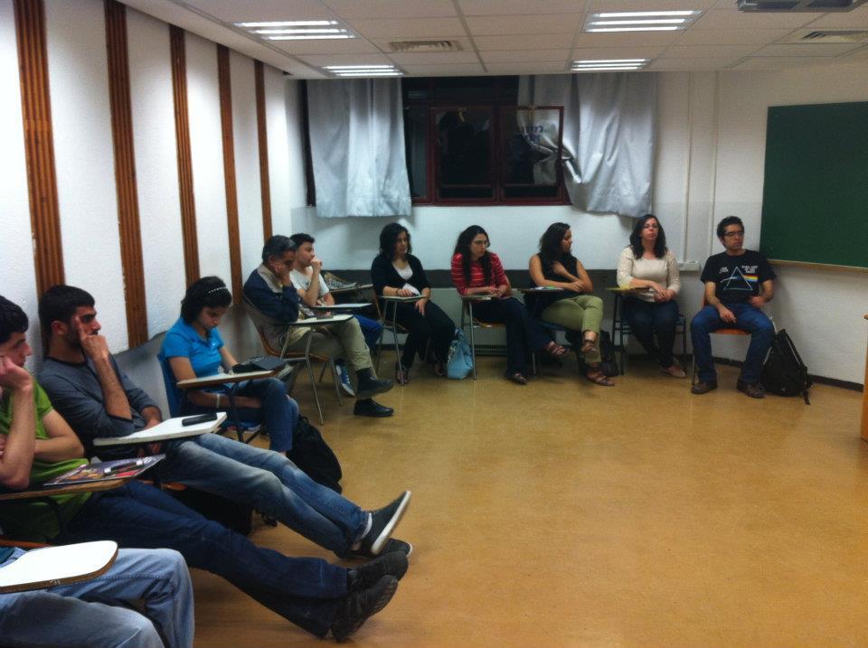 التجمع الطلابي يحيي يوم العامل في الجامعة العبرية
