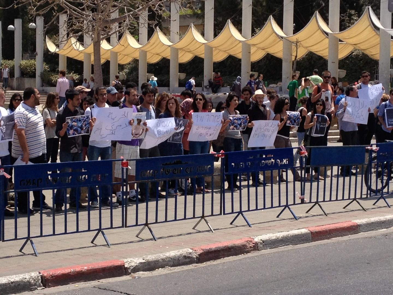 جامعة تل أبيب: وقفة تضامنية مع الأسرى في معركتهم