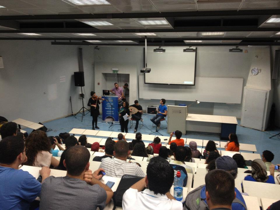الطلاب العرب في الجامعة العبرية أبدعوا للحرية (فيديو)