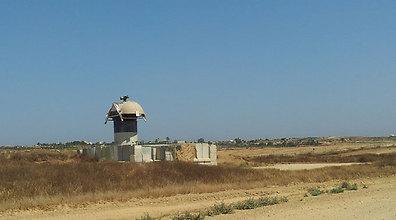 غارة اسرائيلية توقع اربعة جرحى في خان يونس