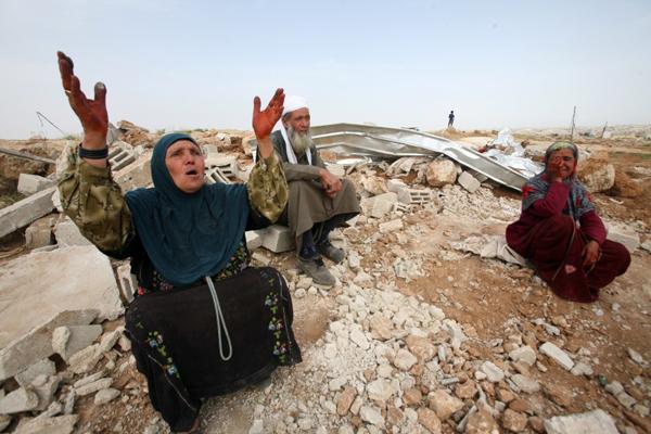 النقب: حملة هدم في تل السبع وحورة وأم رتام