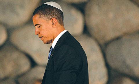 أوباما: أبو مازن والفلسطينيون غير معنيين بالتوصل إلى اتفاق سلام
