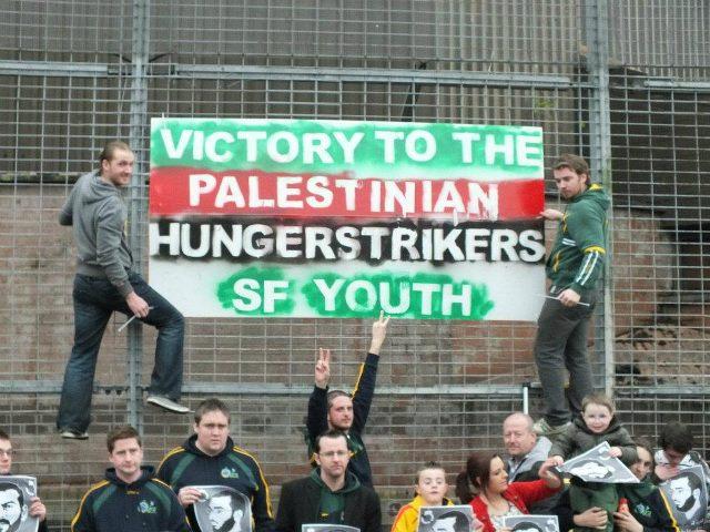 ايرلندا: تظاهرة تضامنية مع الأسرى المضربين عن الطعام