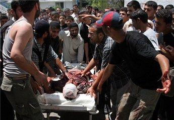 شهيد ومصابان في غارة إسرائيلية على مخيم البريج