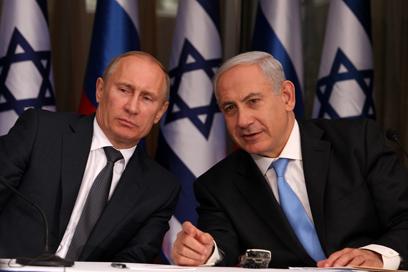 خلال استقبال بوتين: نتنياهو يعرب عن استعداده للقاء عباس في أي مكان بهدف تحريك عملية السلام