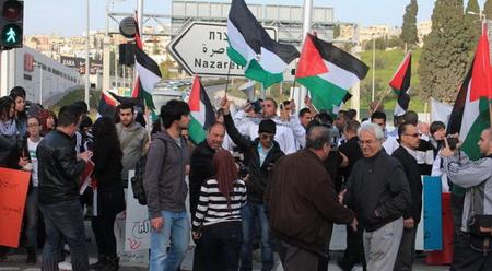 الناصرة: القوى السياسية تدعو للتصدي للعنصرية وعصابات الارهاب