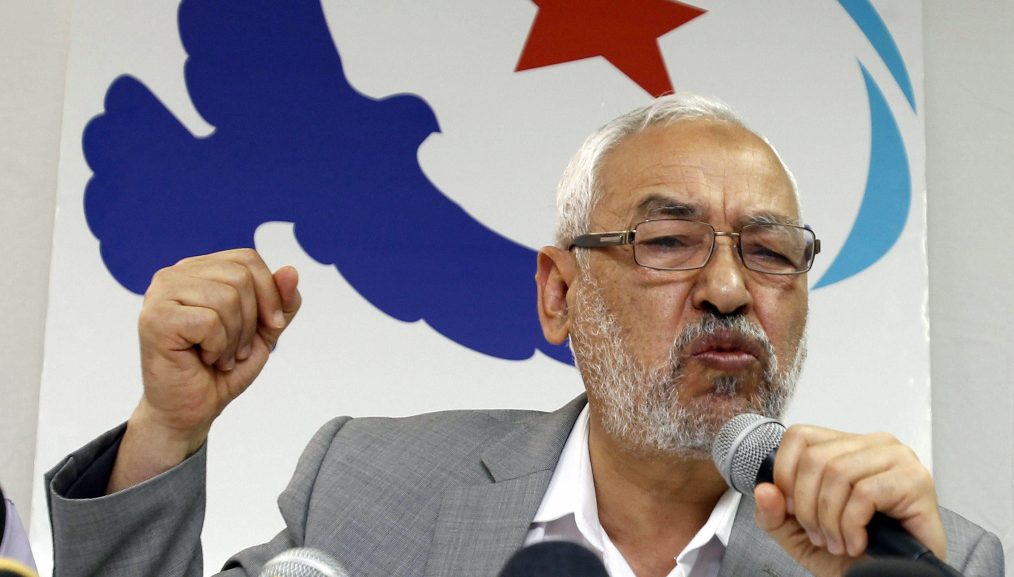 اغلاق صفحة الغنوشي على فيسبوك بسبب تزايد انتقادات التونسيين