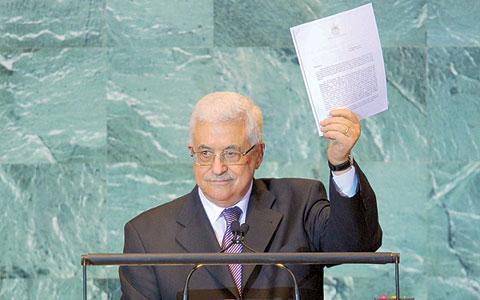 السلطة الفلسطينية ستقدم طلب الحصول على دولة غير عضو الى الجمعية العامة في ايلول القادم