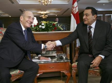 أولمرت رفض دعوة لإلقاء خطاب أمام جامعة الدول العربية