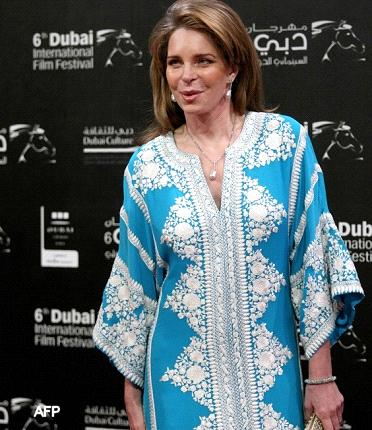 ظهور مفاجئ للملكة نور وتغريدة مساندة لحرية الصحافة