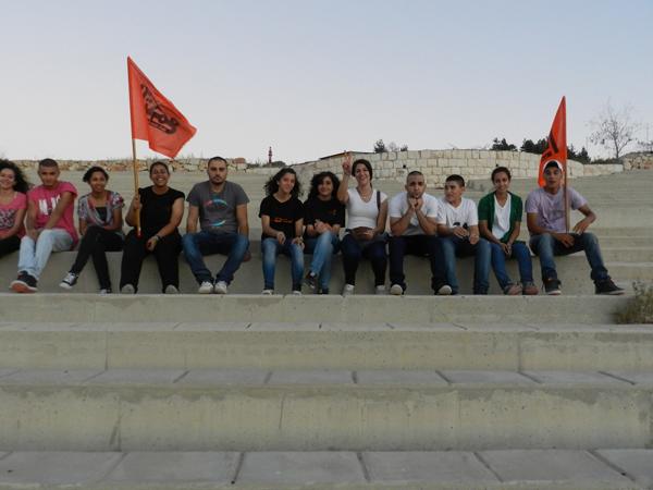 الناصرة: تجمع الشباب ينظم يوم عمل تطوعي في جبل القفزة