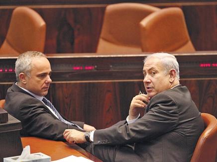 نتانياهو يناقش مع شطاينتس ويشاي إمكانية تقديم موعد الانتخابات